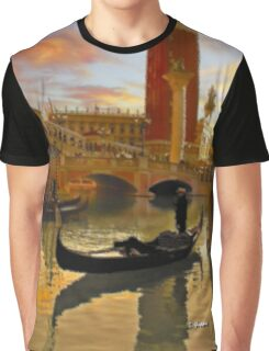ROMANTIC VENETIAN AFTERNOON Graphic T-Shirt