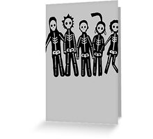 Misfits Lightning Greeting Card