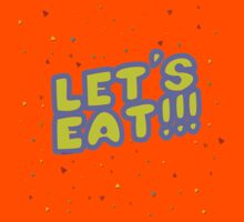 Let's Eat!!! Kids Clothes