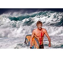 Pipeline Surfer 3 Photographic Print