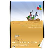 Take the Kids Canoeing Poster