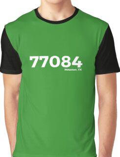Houston, Texas Zip Code 77084 Graphic T-Shirt