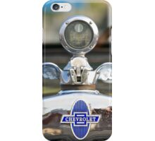 Boyce MotoMeter and Chevrolet iPhone Case/Skin