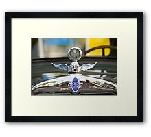 Boyce MotoMeter and Chevrolet Framed Print
