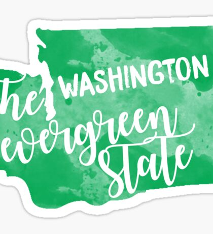 Washington - The Evergreen State Sticker