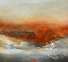 Rust Landscape II by AndradaArt