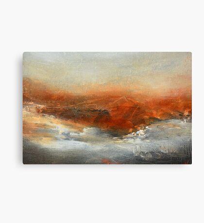 Rust Landscape II Canvas Print