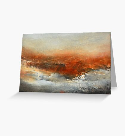 Rust Landscape II Greeting Card