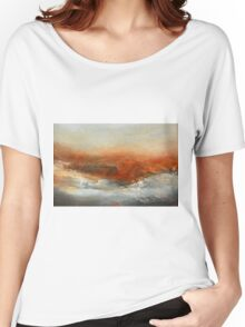 Rust Landscape II Women's Relaxed Fit T-Shirt