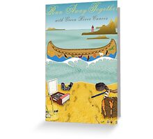 Canoe to Moonrise Kingdom Greeting Card