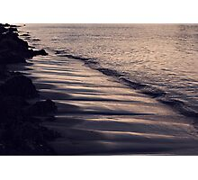 Gentle Waves Upon The Shore Photographic Print