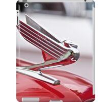 1935 Chevrolet Hood Ornament iPad Case/Skin