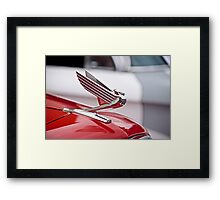 1935 Chevrolet Hood Ornament Framed Print