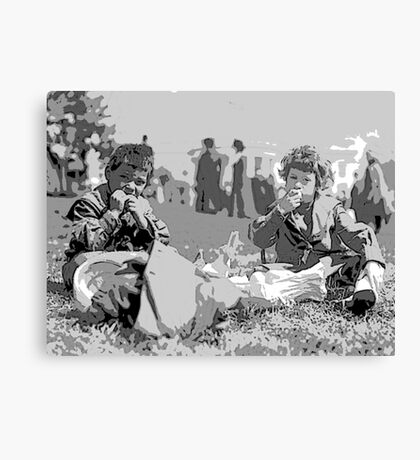 ANNUAL WHITE HOUSE EASTER EGG ROLL Canvas Print