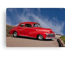 1947 Chevrolet StyleMaster Coupe Canvas Print