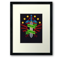 Come forth Framed Print