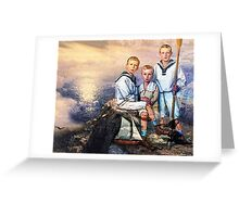 MYSTS AND MEMORIES Greeting Card