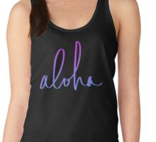 Aloha Hawaii Women's Tank Top