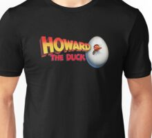 Howard The Duck Movie Title Retro Unisex T-Shirt