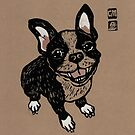 French Bulldog by genevievem