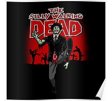 The Silly Walking Dead Poster