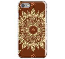 Ornamental ethnic mandala seamless pattern iPhone Case/Skin