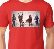 Team YBWR Battlefield 4 Style Unisex T-Shirt