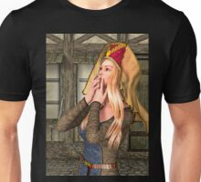 Medieval Lady Unisex T-Shirt