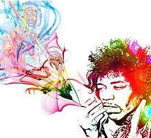 Am i High (Jimmy Hendrix) by D77TheDigArtisT