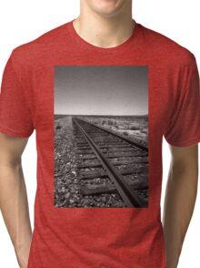 Railroad Tracks Tri-blend T-Shirt