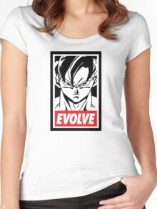 DBZ - Evolve Women's Fitted Scoop T-Shirt