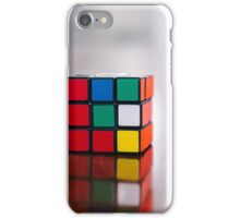 rubiks cube unsolved iPhone Case/Skin