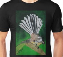 Fantail with sparkle Unisex T-Shirt