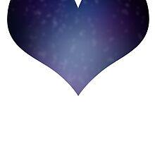 Galaxy Heart by OceanHeart