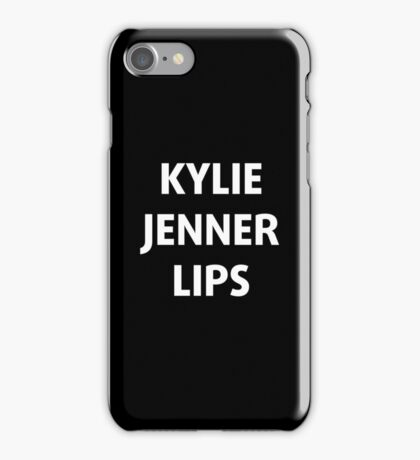Kylie Jenner Lips iPhone Case/Skin
