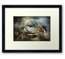 What do we have here?  Framed Print