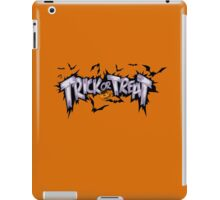 Trick And Treat iPad Case/Skin