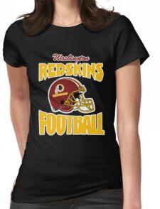 washington redskins football helmet Womens Fitted T-Shirt