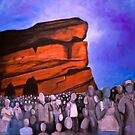 A Show at Red Rocks by Tabetha Landt