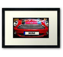 MINI cult car  Framed Print