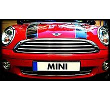 MINI cult car  Photographic Print