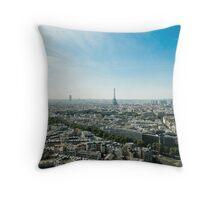 Paris Horizon Throw Pillow