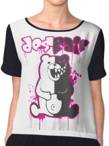 Danganronpa: Monokuma - Despair (Pink) Chiffon Top