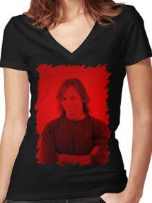 Viggo Mortensen - Celebrity Women's Fitted V-Neck T-Shirt