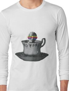 Fancy a Cup of Genius Long Sleeve T-Shirt