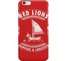 Red Lions Shipping & Logistics iPhone Case/Skin