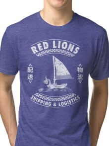 Red Lions Shipping & Logistics Tri-blend T-Shirt