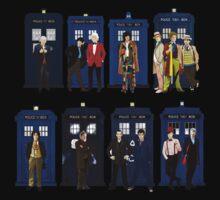 Doctor Who - Doctors & Tardises Baby Tee