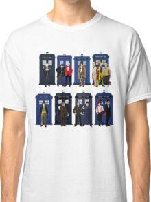 Doctor Who - Doctors & Tardises Classic T-Shirt