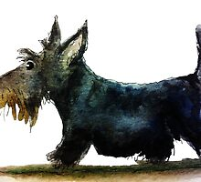 Scottie Dog 'On A Mission' by archyscottie